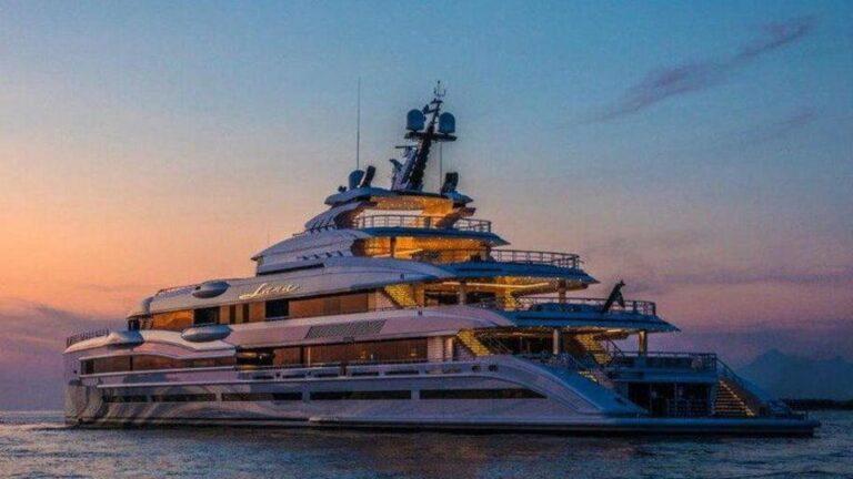 """Dal cantiere di Livorno ecco il giga-yacht """"Lana"""", 107 metri di bellezza"""